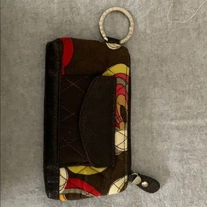Barely used Vera Bradley key chain pouch!